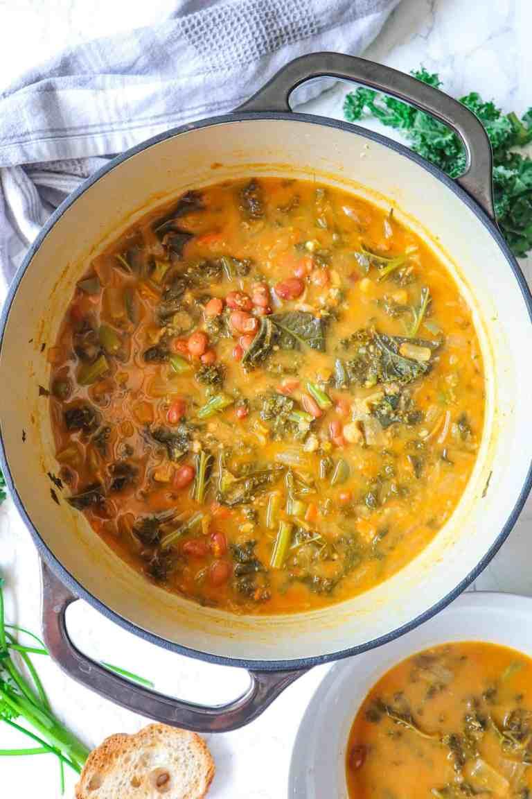 best white bean kale soup