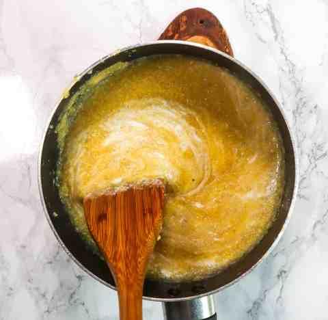 dairyfree creamy polenta recipe