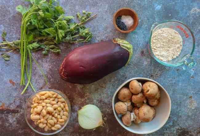 vegan meatballs ingredients