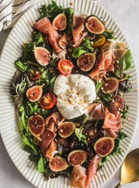 fig and burrata salad britney breaks bread