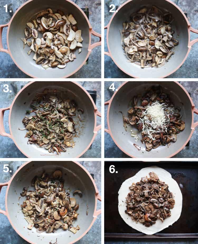 How to Make a Mushroom Galette