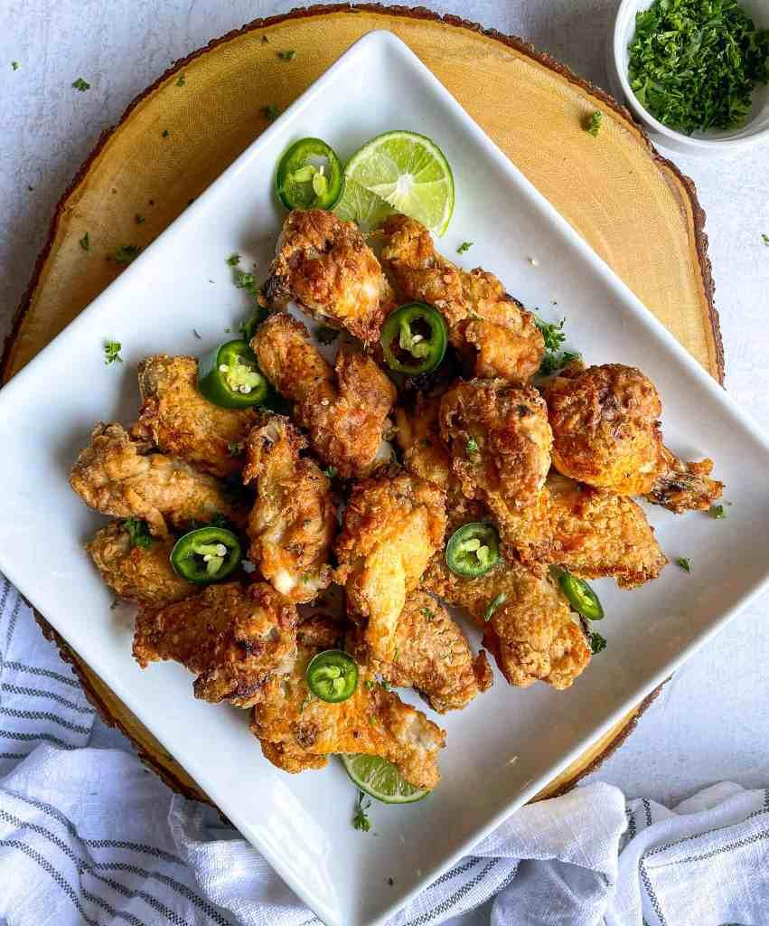 Air Fryer Fried Chicken gluten free dairy free