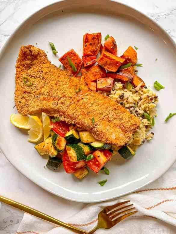 Easy Air fryer fish recipe