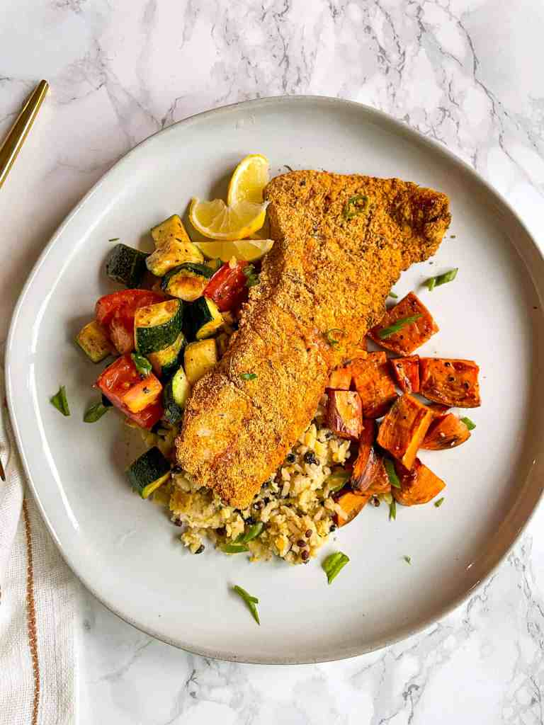 Good Food Baddie Crispy Gluten Free Air Fryer Fish