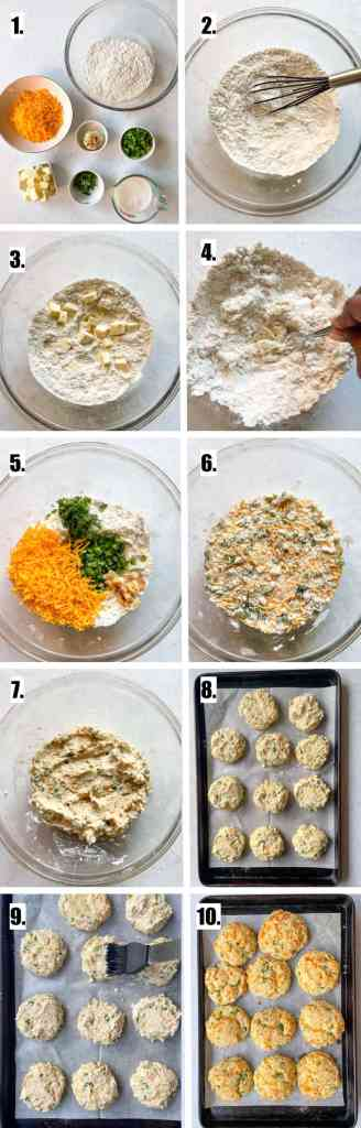 How to Make Gluten Free Jalapeno Cheddar Biscuits