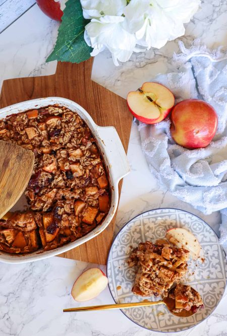 Baked Oatmeal Meal Prep Recipe