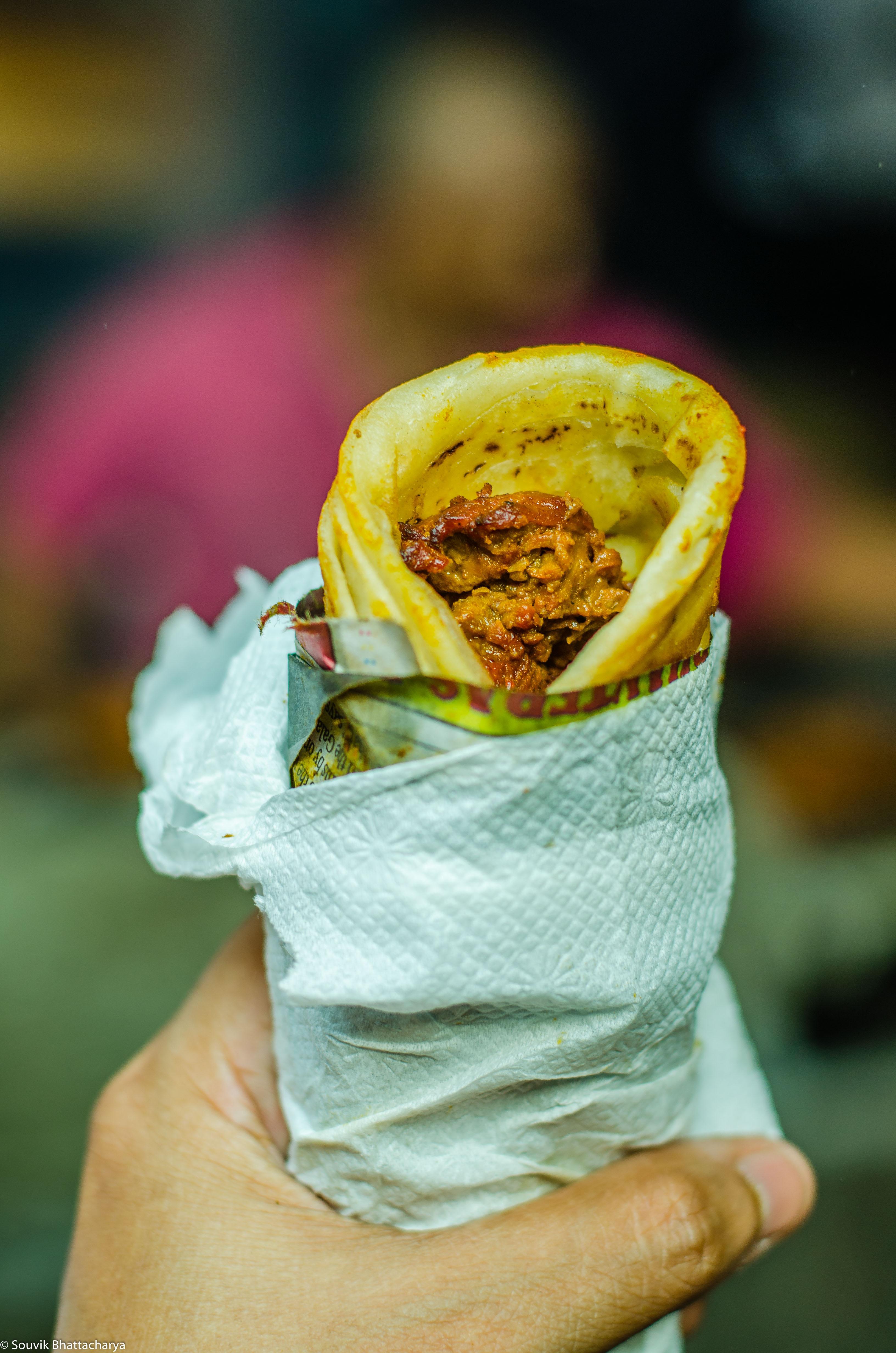 Beef Roll, Bombay Hotel, Zakaria Street