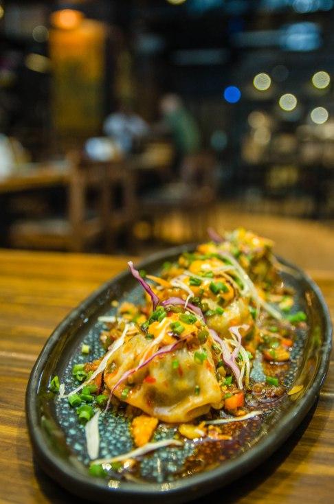 Pork Hangover Spicy Momo