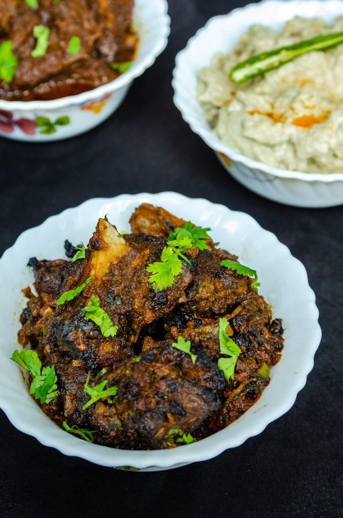 Mutton Bhuna Kabab