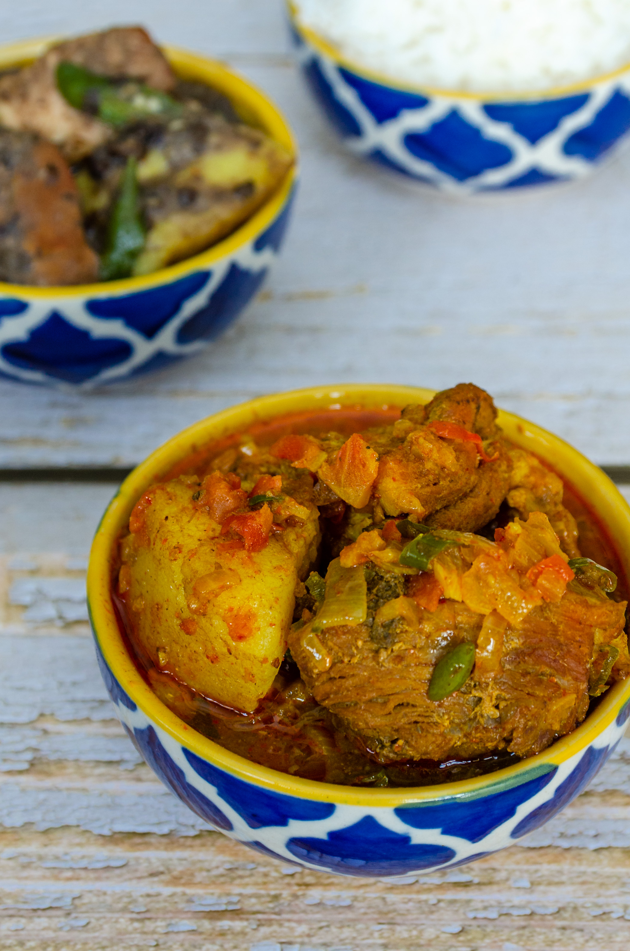 Pork Curry, Naga Style, Let's Poaka. Kolkata