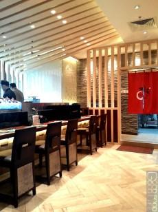 itacho sushi interior