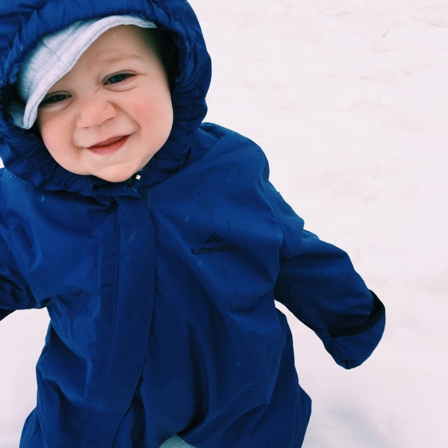Top tips of taking young children to the snow