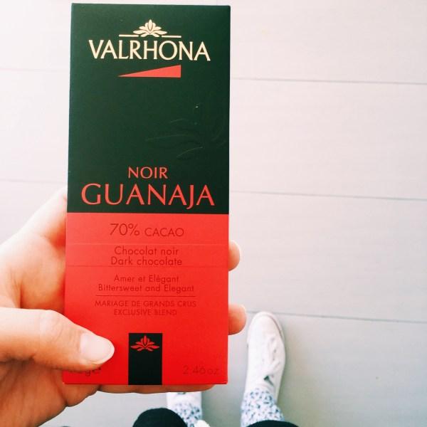 Drak chocolate from Valrhona
