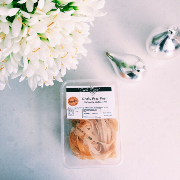 Delicious gluten free pasta from Dish it Up