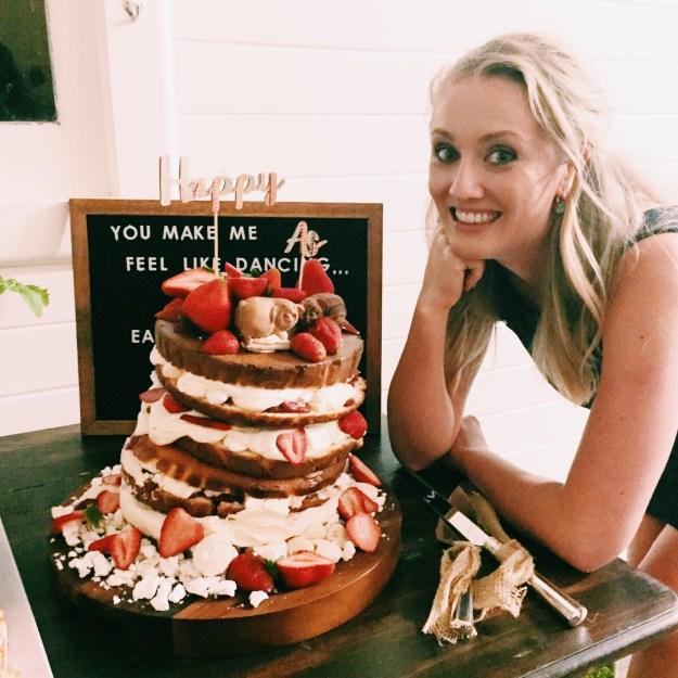 GoodFoodWeek's wedding cake - vanilla sponge with Eton Mess filling