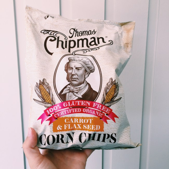 Corn chips from Thomas Chipman