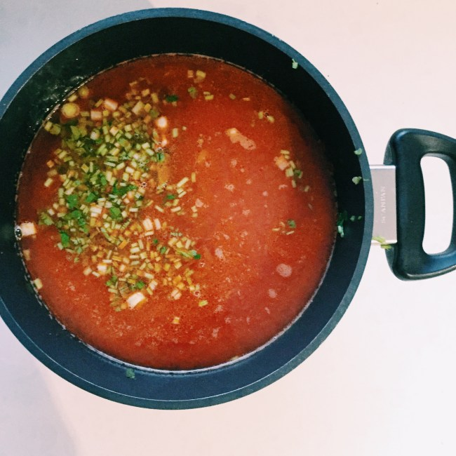 GoodFoodWeek's Mexican bean soup