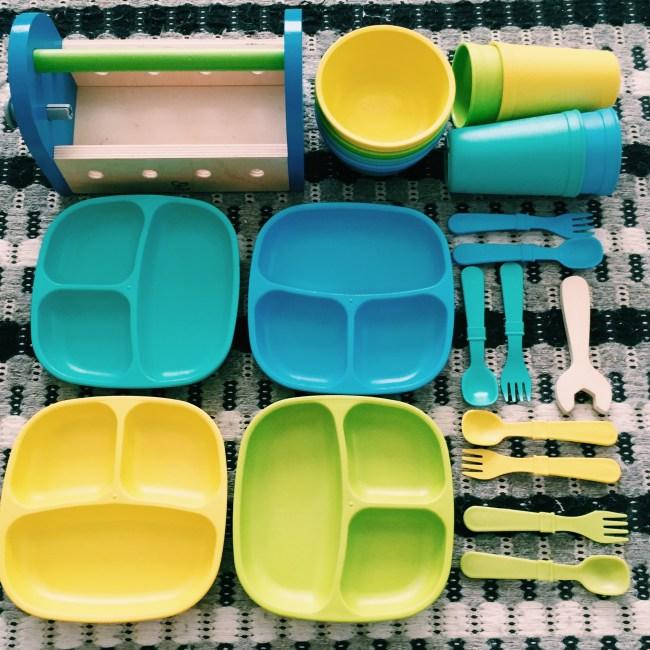 Replay Recycled Dinnerware