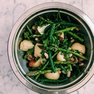 Recipe: Warm asparagus salad