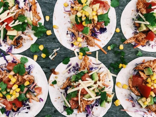 Tasty Chicken Tacos
