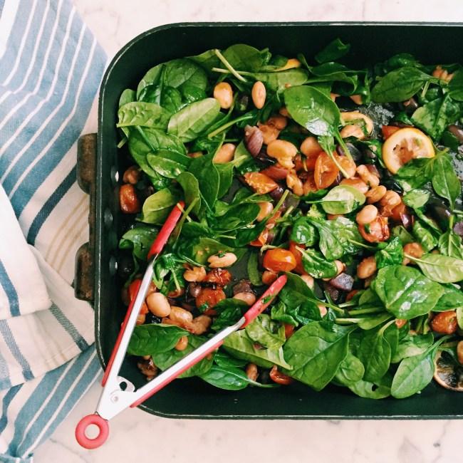 GoodFoodWeek's warm Mediterranean salad