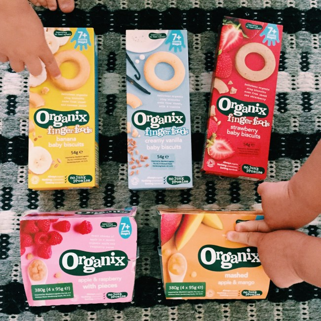 New products from Organix