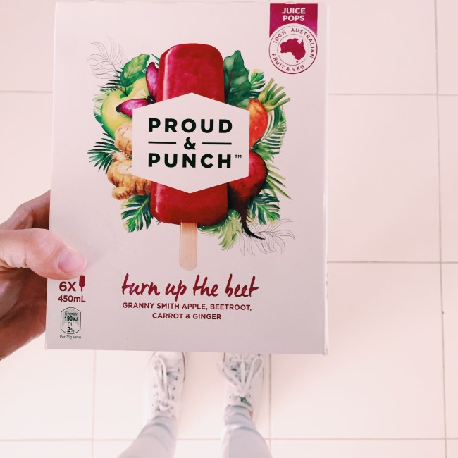 Proud & Punch - Apple, Beetroot, Carrot & Ginger Iceblocks