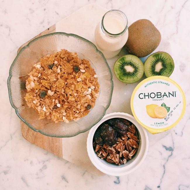 Chobani greek yoghurt