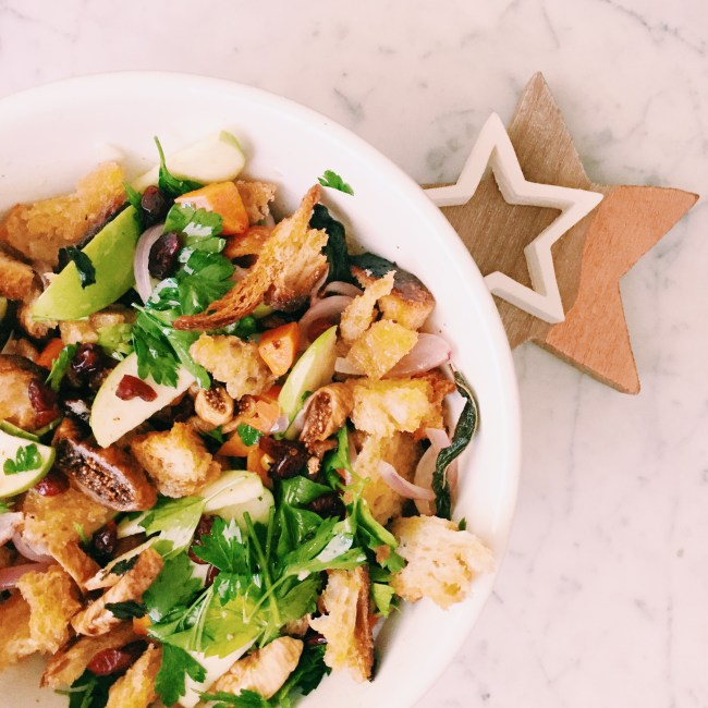 GoodFoodWeek - Christmas in July - stuffing salad
