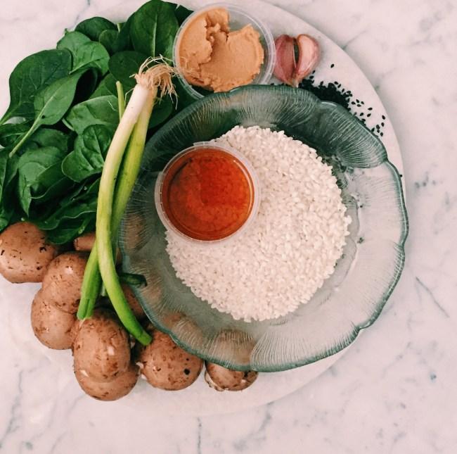 Recipe: Vegan mushroom risotto