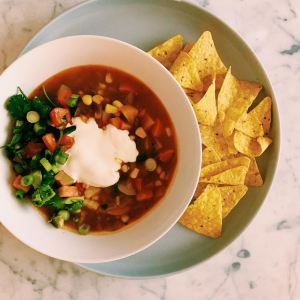 GoodFoodWeek's Mexican Soup