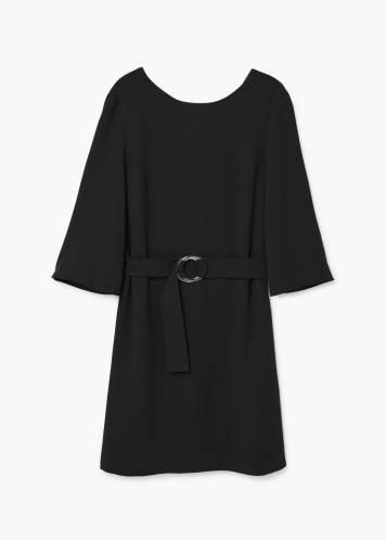 mango jurk zwart