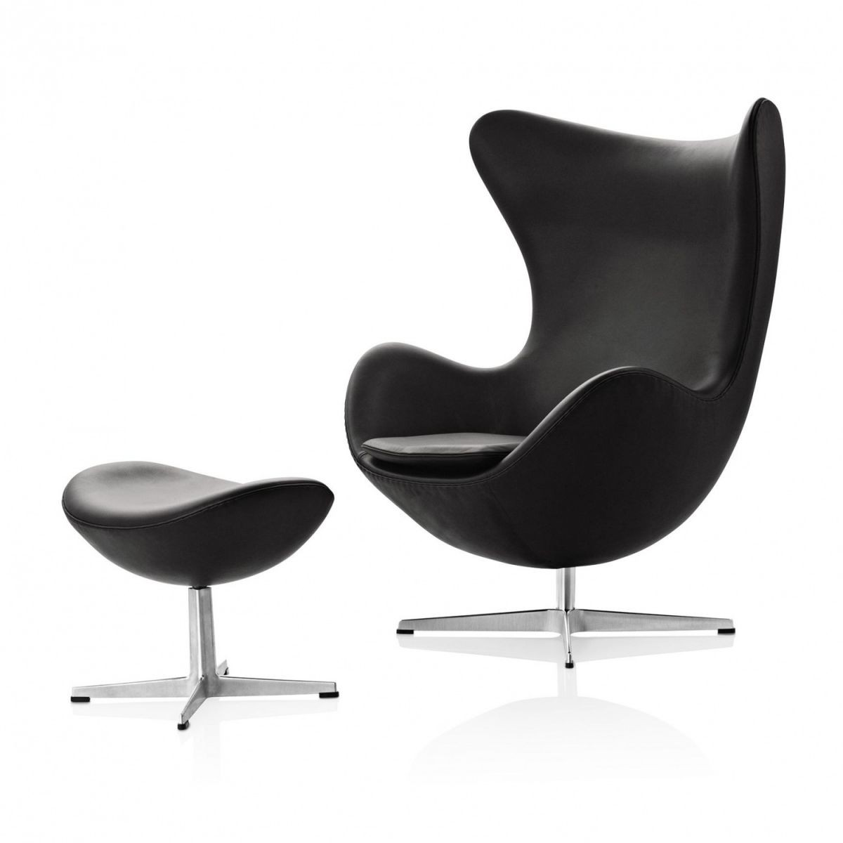 Affordable Egg Chair Fritz Hansen Egg Chair Das Ei Loungesessel Leder Von