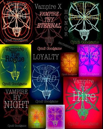 Vampire X Book SPREAD