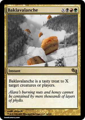 baklavalanche