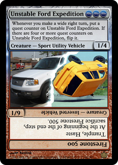 Unstable Ford Expedition
