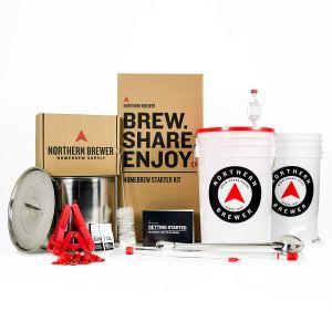 Gift for Adventurous Boyfriend Homebrewing Kit