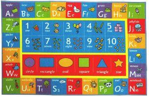Educational Playtime Rug Toddler Toy