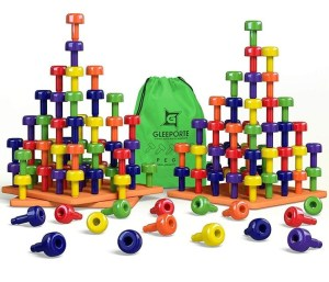 Peg Board Toys for 2 Year Old Boys