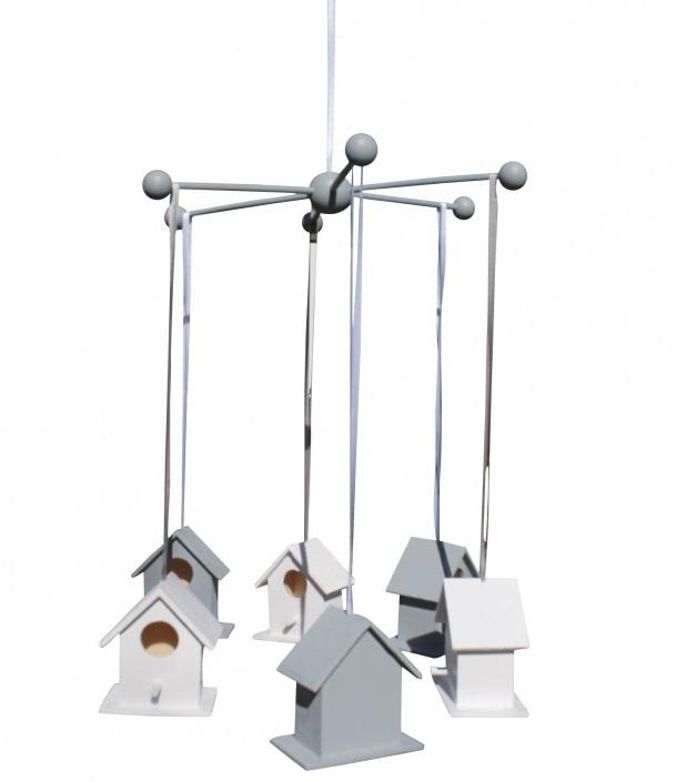 Roozje-mobile met vogelhuisjes-lifestyle-accessoires voor babykamer-