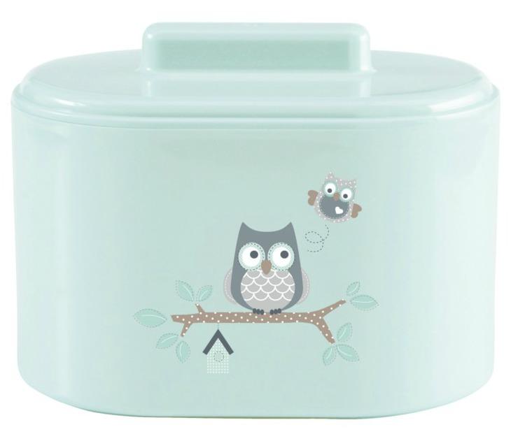 bebe-jou-owl-family-combipot-neuspeertje-wattenstaafjes-voor baby-mintgroene-babyspulletjes-voor-babykamer