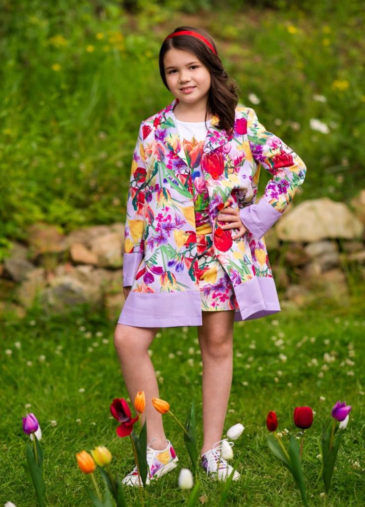 Love Made love dress-spring-flowers-trench-coat-feestjurken voor meisjes-bruidskleding-jurken voor bruidsmeisjes