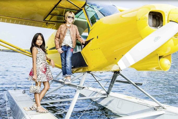 Roberto Cavalli Kids SS 2015-Just Cavalli-kidsfashion-luxe kleding voor meisjes-GoodGirlsCompany-kinderkleding voor meisjes