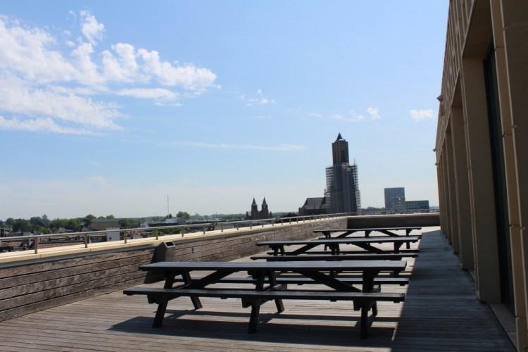 MamaChallenge2015-Rozet-panorama terras- Arnhem-GoodGirlsCompany-bibliotheek Arnhem-de Rozet