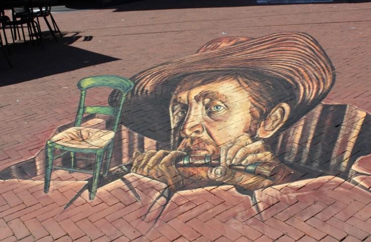World Street painting Festival- 3D straattekeningen-Van Gogh-GoodGirlsCompany