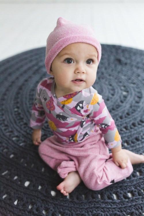 nOeser winter 2015-Birds n Bears-GoodGirlsCompany-biologische babykleding-meisjeskleding-roze