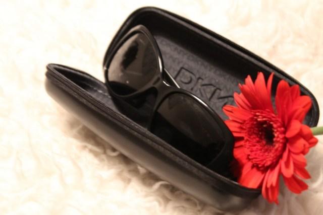 DKNY zonnebril-brillendoosje