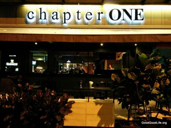 Chapter One shop front