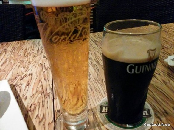 Tiger and Guinness