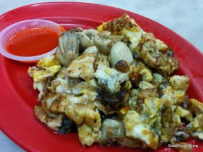 Oh Jian or Fried Oyster of New Lane Hawker Center